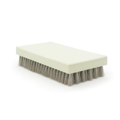 Brosse à grener rectangle nickel ondulé
