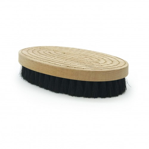 Brosse à grener ovale soie noire