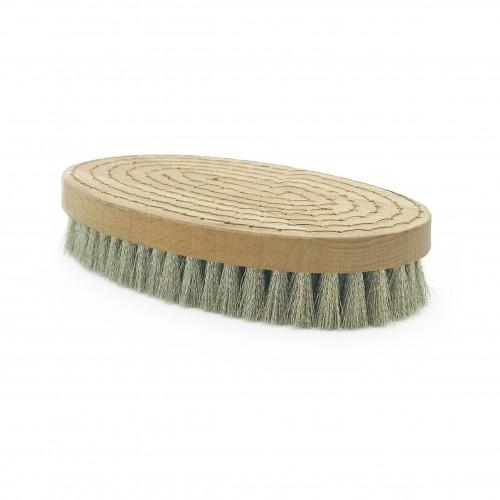 Brosse à grener ovale nickel ondulé