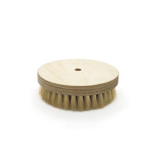Brosse à grener ronde laiton ondulé