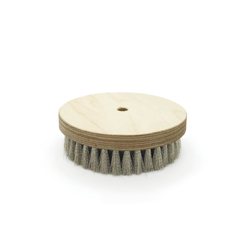 Brosse à grener ronde nickel ondulé