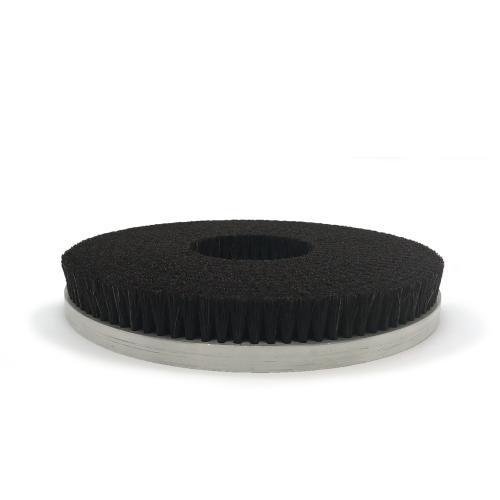 Brosse disque crin noir