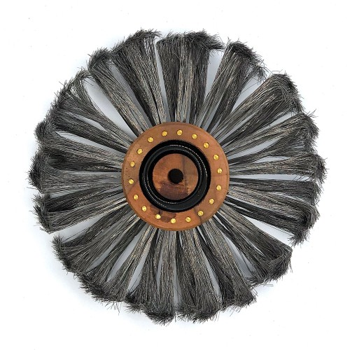 Brosse à piquer acier extra trempé 180 mm