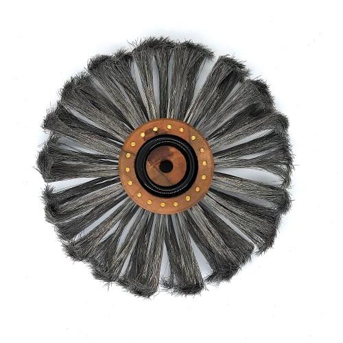 Brosse à piquer acier extra trempé 150 mm