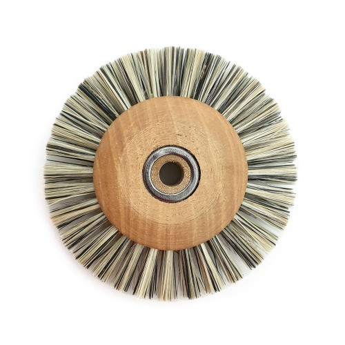 Circular brush viscose 70 mm wood frame