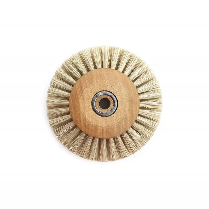 Circulaire soie blanche centre bois renforcé 50 mm