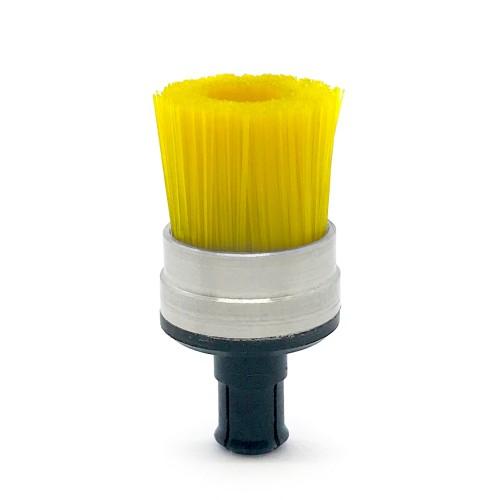 Brossette vacuum ALVAC sur mesure nylon jaune
