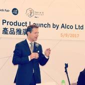"""Conférence de presse pour lancer notre nouvelle collection """"Eau de Temps"""" en Première Mondiale à la Hong Kong Watch & Clock Fair 2017 #alcoswitzerland #alco #eaudetemps #hktdc2017 #hongkong #hongkongwatchandclockfair 💎⌚️🙌🏼"""