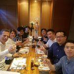 "Great evening in Seoul with Kim & Friends, watches and Eau de Temps aficionados' to celebrate launch of our new ""after sales service set""! #eaudetemps #parfumdutemps #watches #montres #orologio #watchesofinstagram #alcoswitzerland #hublot #rolex #moiwatch #patekphilippe #audemarspiguet #watchespedia"